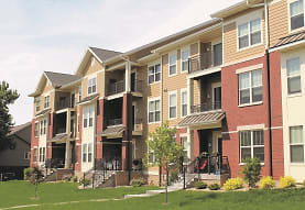 view of property with a yard, Copper Creek Apartments