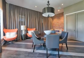 dining space with parquet floors, The Reserve at Vero Beach
