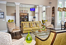 living room with natural light and TV, The Ravines at Westar