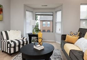 sitting room featuring a wealth of natural light, City Side