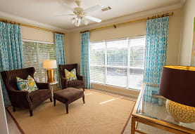 sitting room with a ceiling fan and natural light, Sugar Mill
