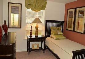 carpeted bedroom featuring natural light, Meadows at Bumble Bee Hollow