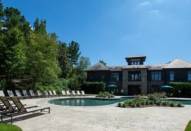 view of pool with a yard, Grove Park