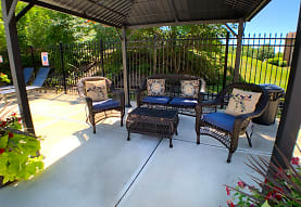 view of terrace with an outdoor living space, Fox Run