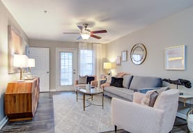 living room with natural light and a ceiling fan, Azalea Ridge
