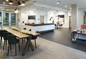 dining room with tile floors, Avalon Meydenbauer