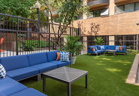 view of home's community with an outdoor living space, The Point at Pentagon City