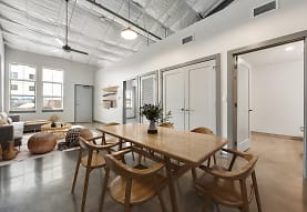 dining space with natural light, Bottle Art Lofts Apartments