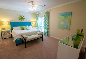 bedroom with carpet, natural light, and a ceiling fan, Sugar Mill