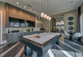 recreation room featuring hardwood flooring and TV, The Reserve at Vero Beach