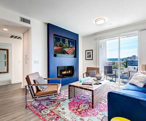 Living Room, NOHO 55 Apartments