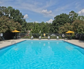 Pool, Hyde Park Townhomes