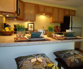 Kitchen, Fox Brook Townhomes