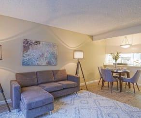 Living Room, Casa Verde Apartments