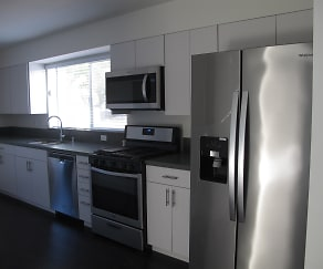 Kitchen, Bentley Ave Townhomes