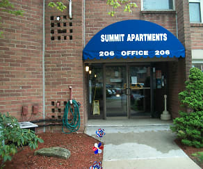 Community Signage, Summit Apartment