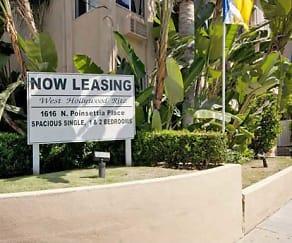 Community Signage, West Hollywood Ritz