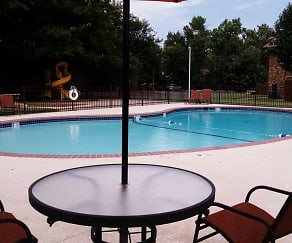 Pool, Timbers Apartments