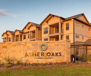 Community Signage, Asher Oaks