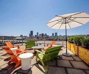 Patio / Deck, Park View Apartments