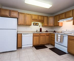 Kitchen, Stonebridge Apartments