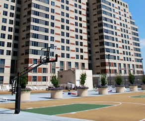 Building, Plaza Towers Apartments