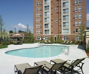 Pool, Cloverleaf Apartments