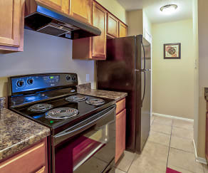 Kitchen, Oakbrook Apartments