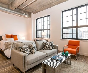 Living Room, Norden Lofts
