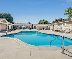 Pool, Timberwood Crossing Apartments