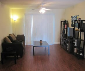 Living Room, Summit Apartments