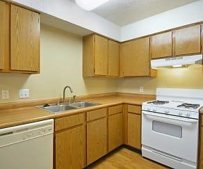 Kitchen, Melrose Place