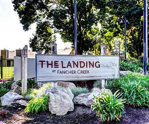 Community Signage, Landing At Fancher Creek