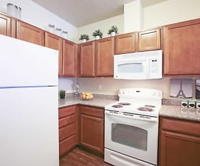 Kitchen, Birkhill Apartments