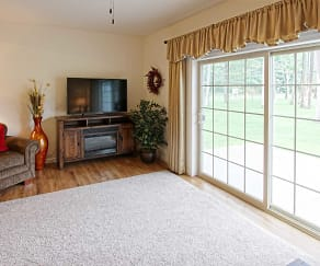 Living Room, Harrison Quarry Townhomes