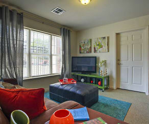 Living Room, Varsity House Fayetteville
