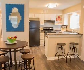 Kitchen, Heron on the Bluffs