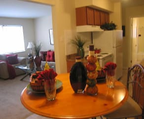 Dining Room, Hafner Court Apartments