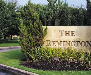 Community Signage, Remington Apartments