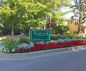 Community Signage, Weatherstone Luxury Townhomes North & South