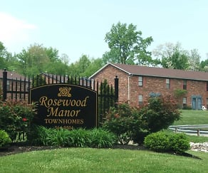 Community Signage, Rosewood Manor Townhomes