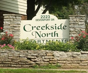 Community Signage, Creekside North Apartments