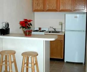 Kitchen, Hillcrest Apartments