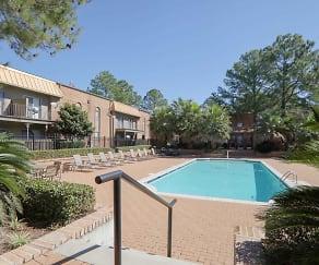 Pool, Bel Air Apartments