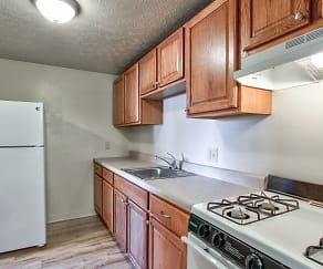 Kitchen, Lake Street Apartments