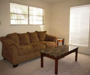 Living Room, Gaslite Apartments