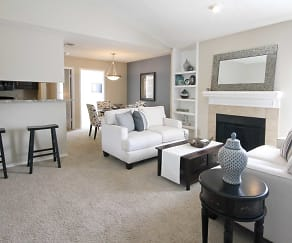 Living Room, Townlake of Coppell
