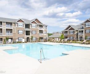 Pool, The Astoria Apartments