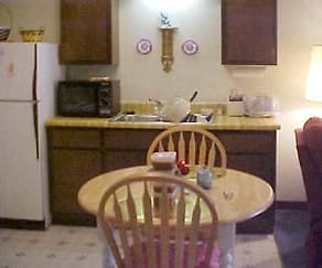 Kitchen, Wesley Homes Dyersburg