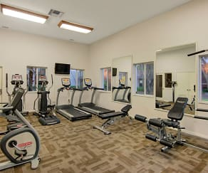 Fitness Weight Room, Coconut Palm Club Apartments